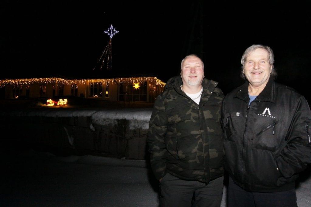 Stig Håvard Helstad (t.v.), Magne Skavåsen. Foto: Liv Rønnaug Lilleåsen