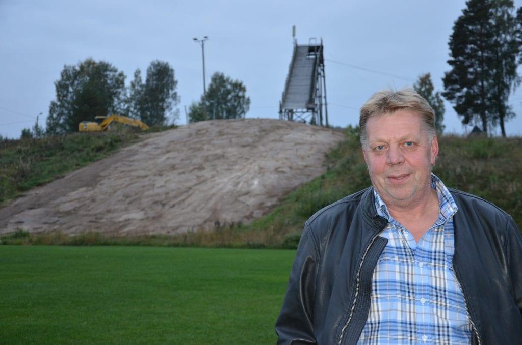 NEST MEST: Kjellmyra Idrettslag fikk nest mest av Grasrotandelen i Solør i 2019. Leder Roy Erik Myrvang er glad for alle som støtter idrettslaget.