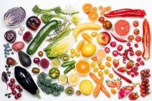 NYTTÅRSFORSETT: Flere ønsker å endre matvanene sine, og mange ønsker å bli mer klimabevisste i matveien. Foto: Opplysningskontoret for frukt og grønt