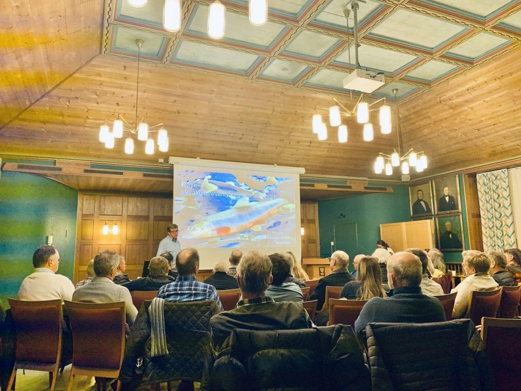 Møte om røyeoppdrett 24. januar, rådshuset Flisa