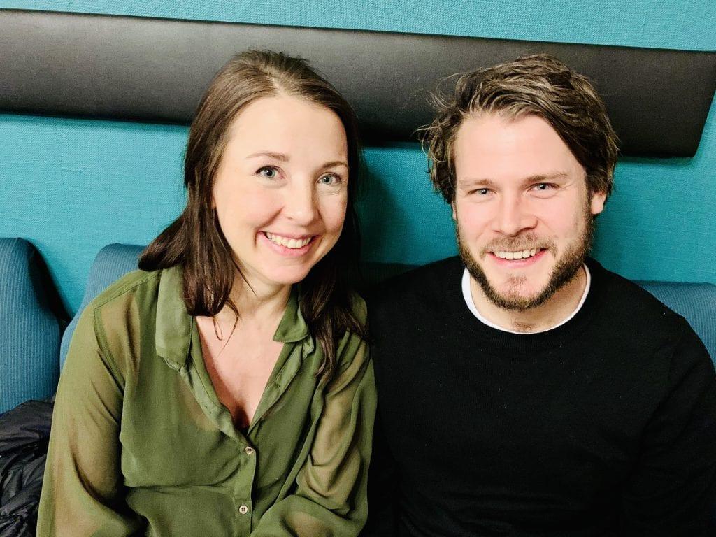 Mats Sparby og Margit Langmoen Olsen