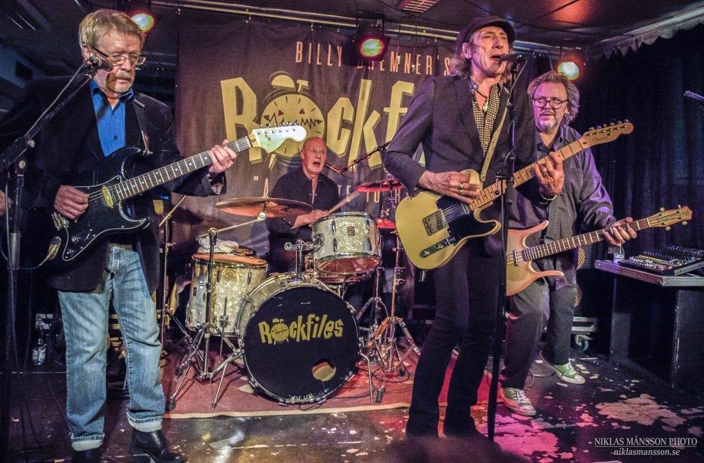 KOMMER TIL FLISA: Det blir blues og rock fra 1970- og 1980-tallet når Billy Bremner's Rockfiles spiller i Rådhuskinoen onsdag 29. januar klokka 20.00. (Foto: Privat).