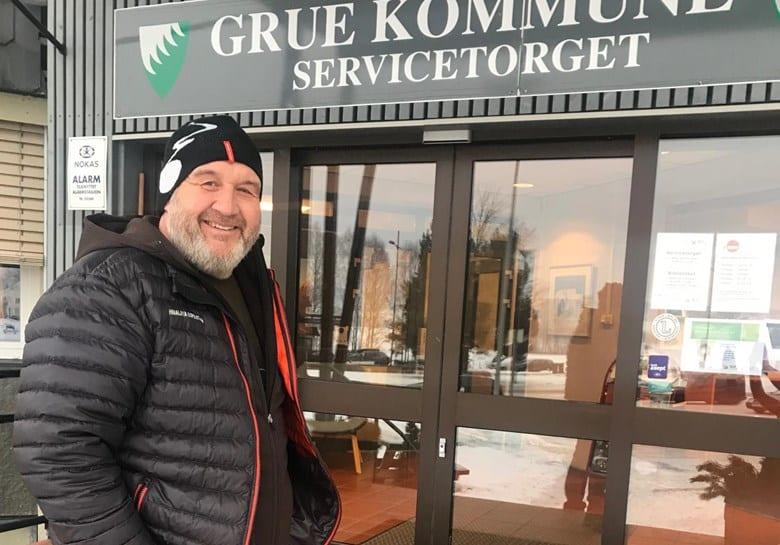 INNSPILL: Ordfører Rune Grenberg ønsker innspill fra innbyggerne i det åpne møtet om Grues framtid. Arkivfoto: Bjørn-Martin Brandett