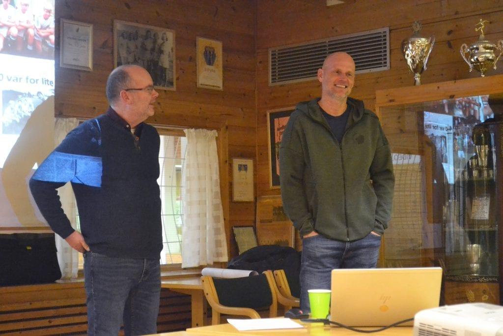 GLAD FOR STØTTEN: Gjermund Holt i prosjektgruppa er meget fornøyd med støtten fra Ståle Solbaken. Foto: Pål-Erik Berntsen