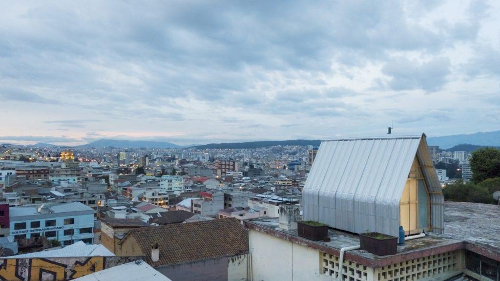 NOMINERT: Parasite House i Ecuador. Foto: Andrés Villota
