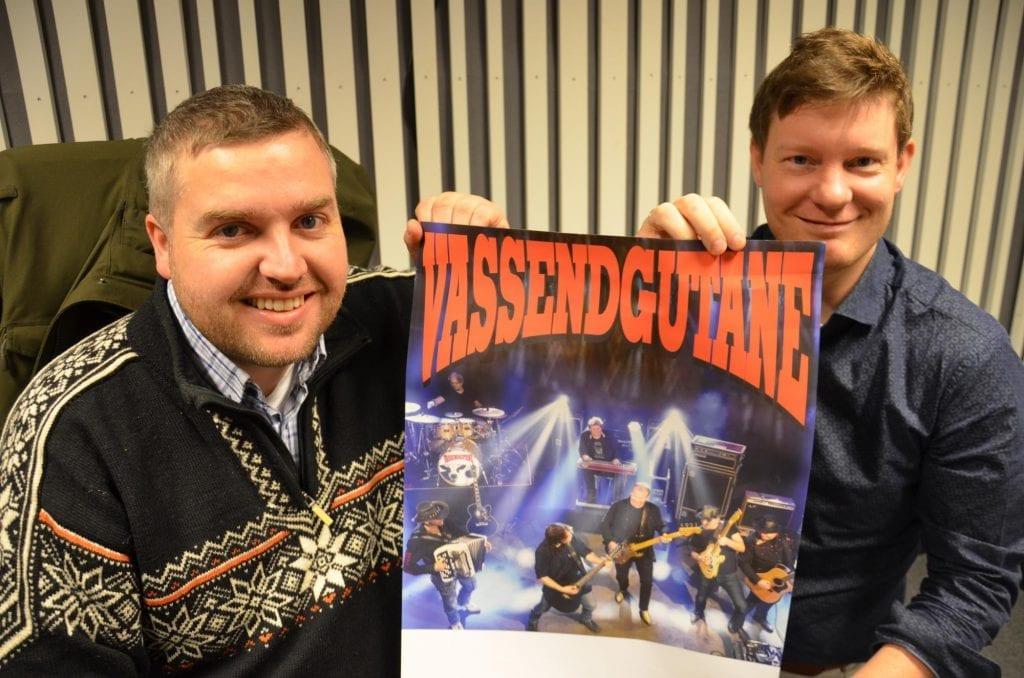 KOMMER TILBAKE: Vassendgutane blir å høre på Helt Ville Dager i år. Knut Arne Gjems (til venstre) og Emil Rundberget forteller om stor suksess sist de var på besøk.