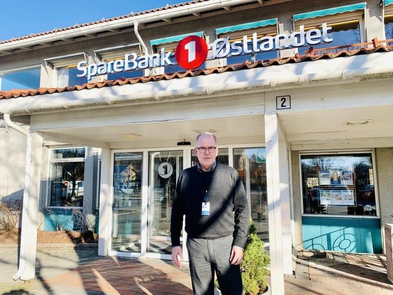 Sparebank1 Østlandet, avdelingsleder Iver Helstad. Foto: Liv Rønnaug B. Lilleåsen