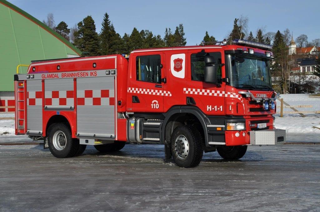 brann, Glåmdal brannvesen IKS. Foto: Glåmdal brannvesen IKS