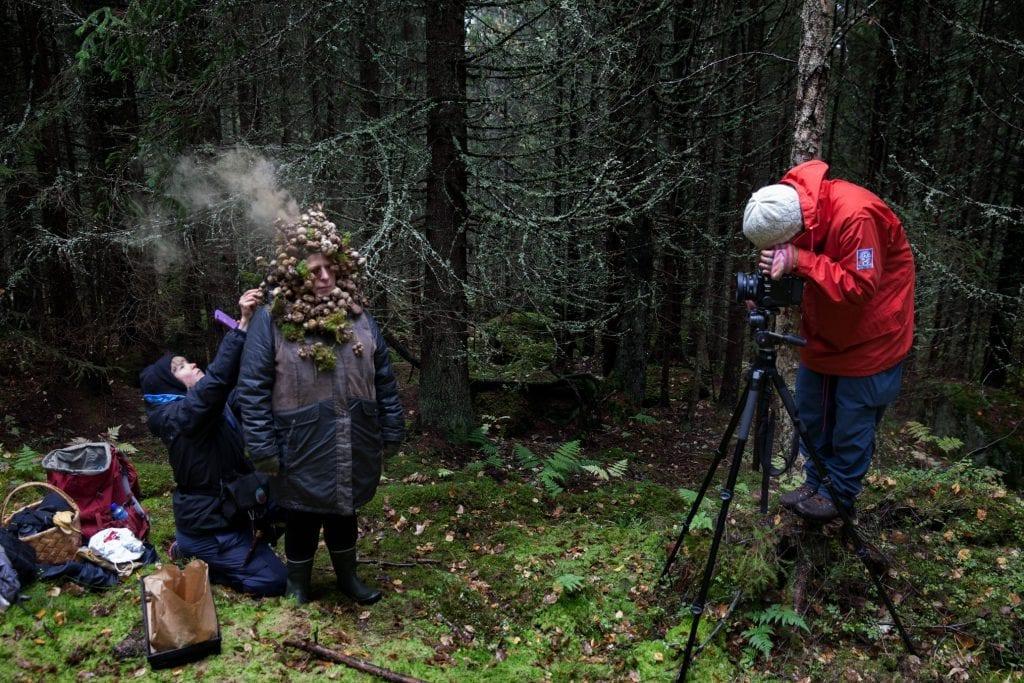 Svullrya, Finnskogen Foto: Nina Nordbø/NRK