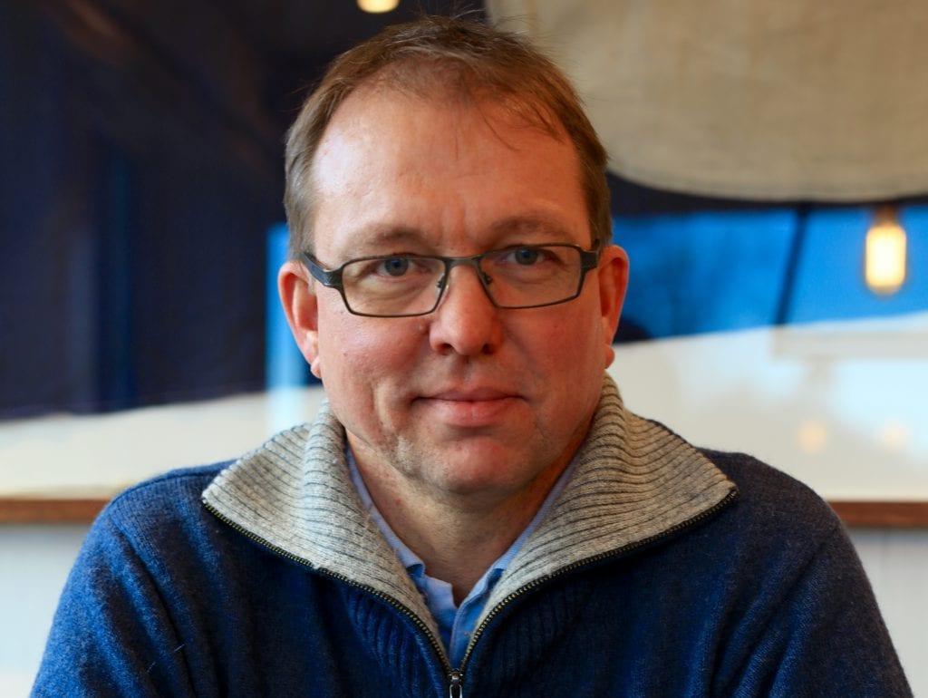 UENIG: Audun Bringsvor, generalsekretær i interesseorganisasjonen Norsk Hyttelag er totalt uenig i det nye forbudet som ble innført torsdag. Foto: Norsk Hyttelag