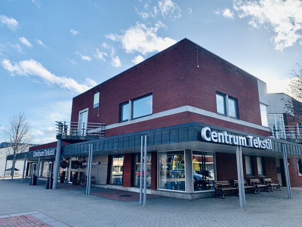Centrum Tekstil, Flisa. Foto: Liv Rønnaug B. Lilleåsen