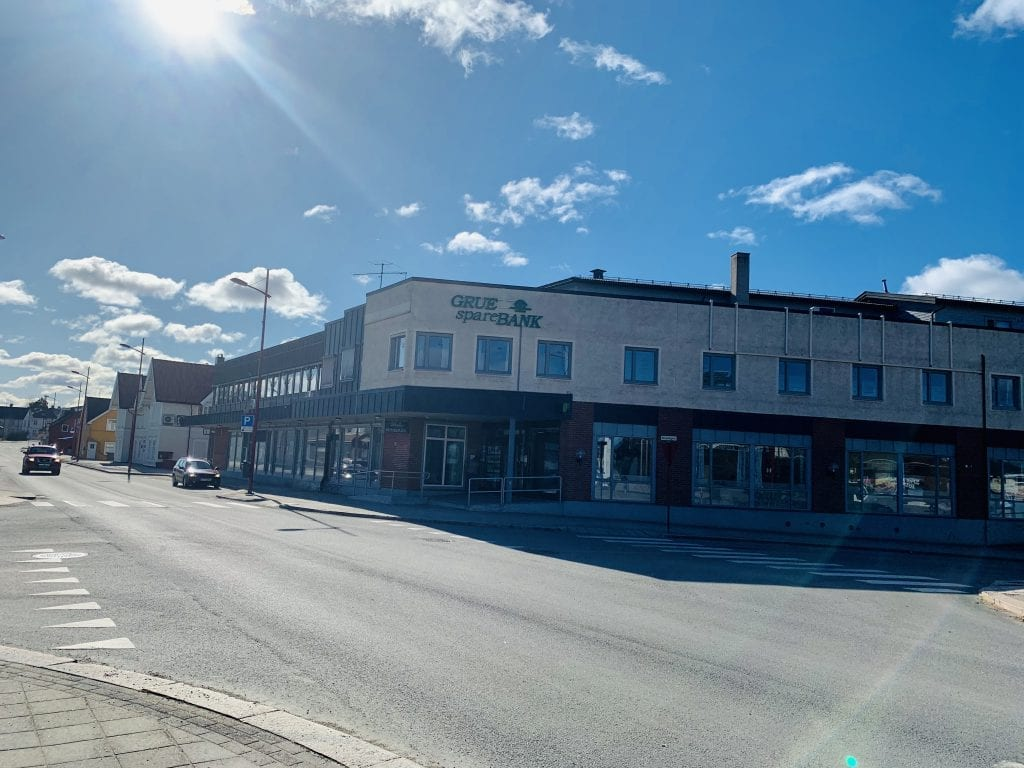 Grue sparebank, Foto: Liv Rønnaug B. Lilleåsen