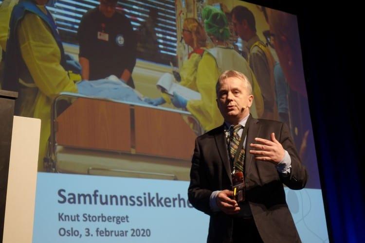 FELLES REGLER: Knut Storberget presenterte i dag et felles sett av kjøreregler i forbindelse med koronautbruddet. Arkivfoto: Fylkesmannen i Innlandet