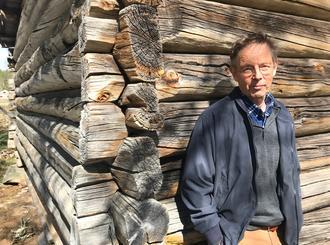 KUNST I SENTRUM: Tore Hansen og Erlend Leirdal er blant de fire som skal lage kunst i Svullrya sentrum. Foto: Grue kommune