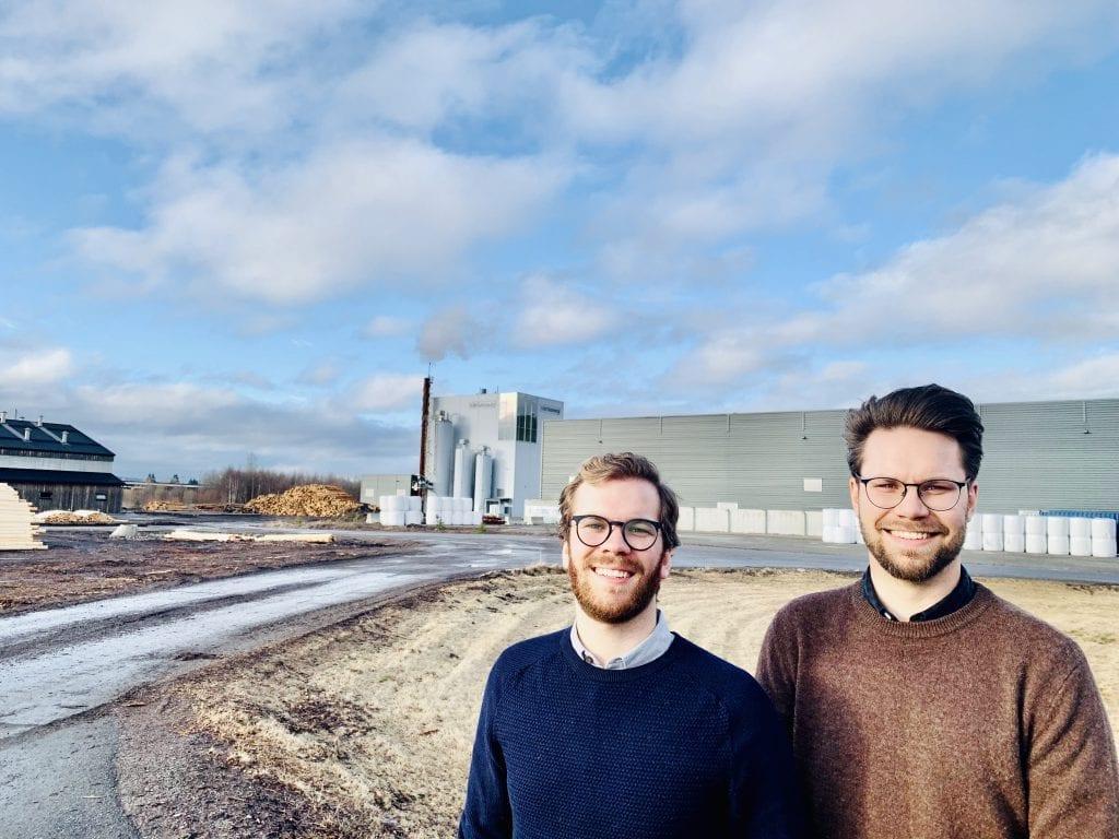 VIL SATSE: Her i nærheten av Solør Bioenergi ønsker brødrene fra Oslo Christopher og Marius Bratsberg i Alma Hydrokultur å etablere seg. Foto: Liv Rønnaug B. Lilleåsen