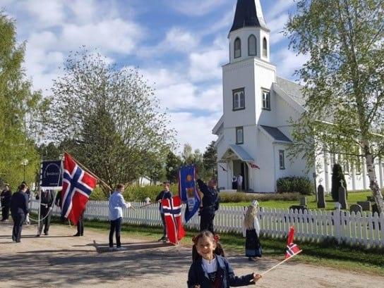ANNERLEDES: Årets 17.mai-feiring blir ganske annerledes på grunn av korona-pandemien. Foto: Solør Montesorri