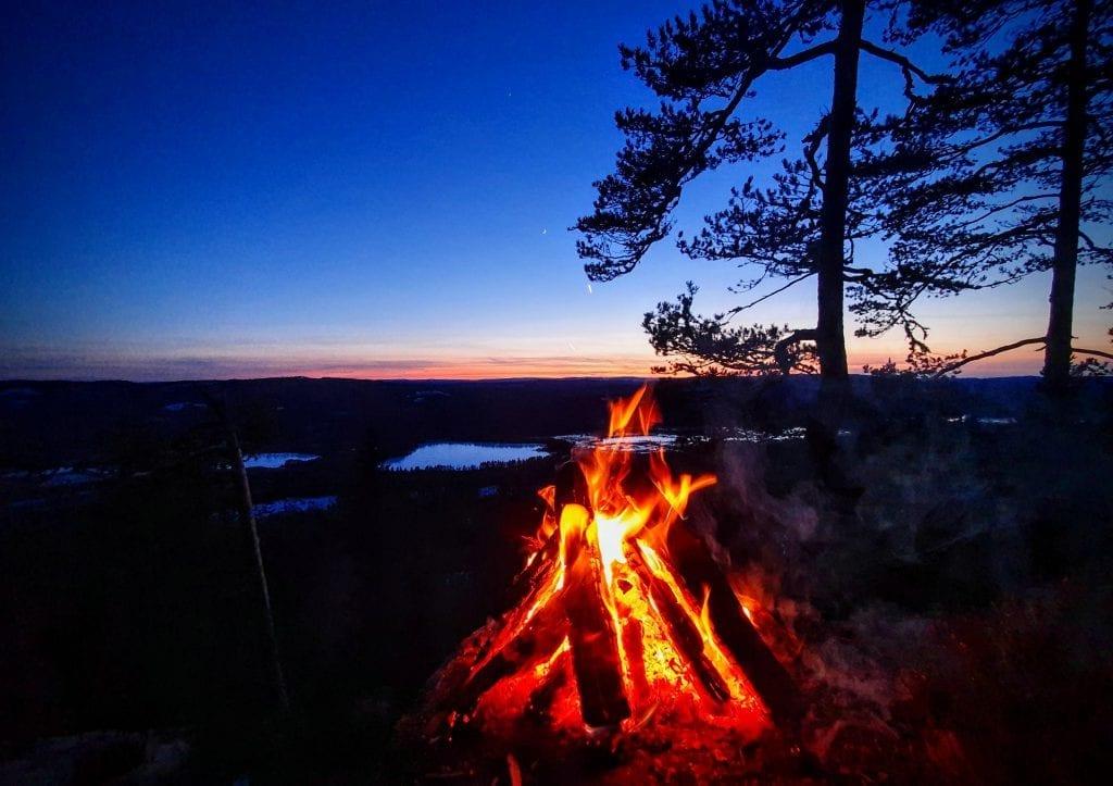 VELG MOTIV SELV: Alle friluftsmotiv er velkommen i konkurransen. Ved å bruke hashtag #utikommunen på Instagram er du med i trekningen av en opplevelsesbasert aktivitet på Finnskogen verdt 10.000 kroner. Foto: Privat.