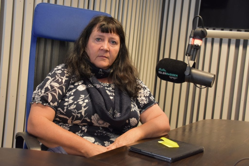 KREVER ENDRING: Gunn Marit Lindmoen og Våler Pensjonistparti krever bedre mobildekning i Risberget. Arkivfoto: Bjørn-Martin Brandett