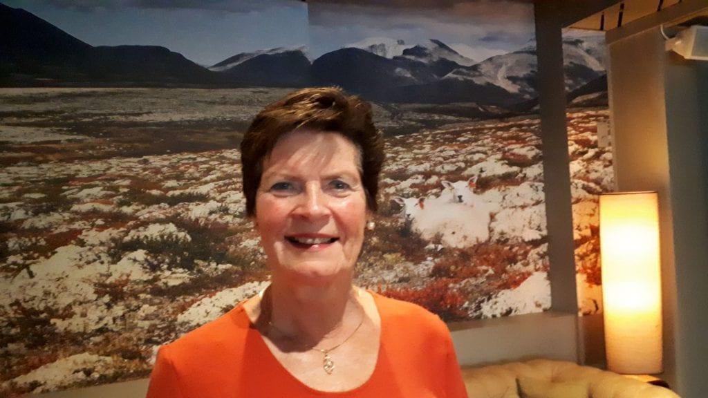 VIKTIG: Prosjektleder Merete Furuberg mener dagens korona-krisa virkelig synliggjør hvor viktig det er å være selvforsynt med lokal mat. Foto: Privat