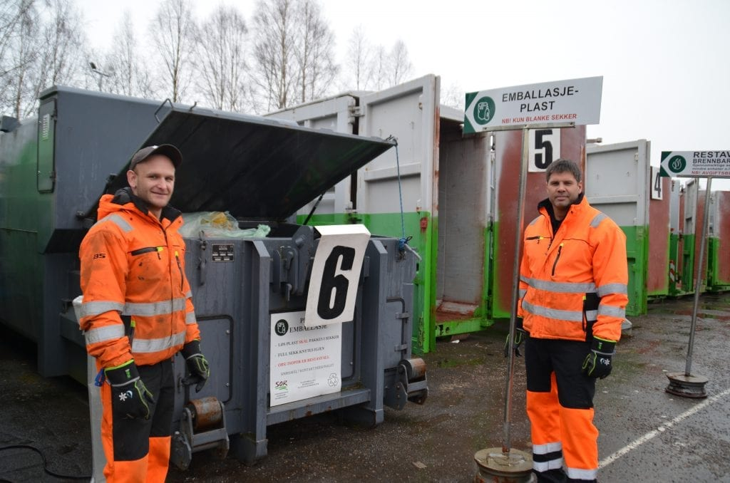 STENGT: Solør Renovasjon har stengt inntil videre. Her fra gjenvinningsstasjonen på Kirkenær. Arkivfoto: Jørgen Mathiesen