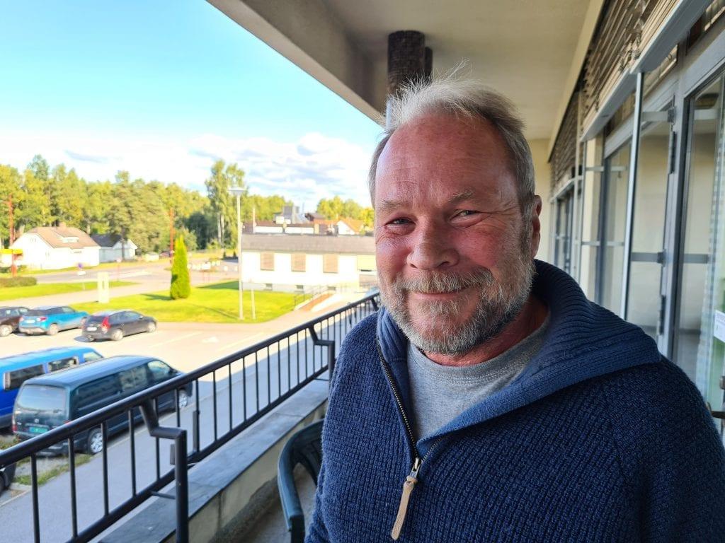 HAR TRUA: Dag Raaberg ved Norsk Skogfinsk Museum venter spent på statsbudsjettet for 2021. Han er optimist, og tror på midler til bygging på Svullrya nå.