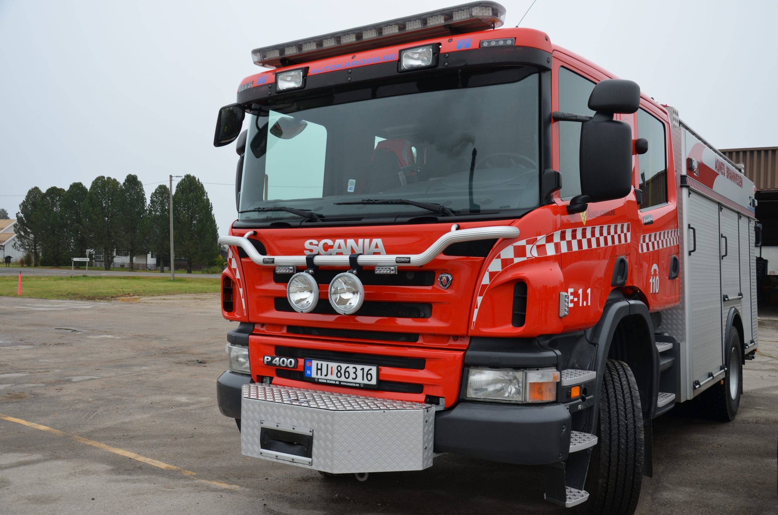 MER EN BRANN: Brannvesenet i Kongsvinger-regionen må bistå i stadig flere helseoppdrag. Det er en utvikling Anette Trettebergstuen (Ap) liker dårlig. Hun har stilt Helseminister Bent Høie spørsmål om det skal være slik.