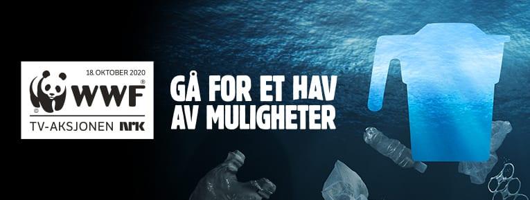 DÅRLIG OPPSLUTNING: Det blir ikke mye penger til å bekjempe plast i havet om ikke flere digitale bøssebærere melder seg i Solør. Søndag går årets TV-aksjon av stabelen.