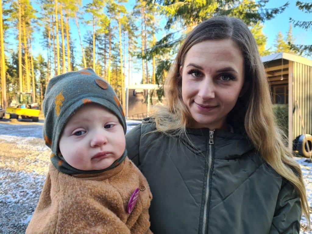 TIL STOR HJELP: Prematurforeningen var til stor hjelp da Sandra Håbakk fødte Elias tre måneder før tiden. Nå vil Sandra hjelpe tilbake, og ikke minst sette fokus på jobben Prematurforeningen gjør.