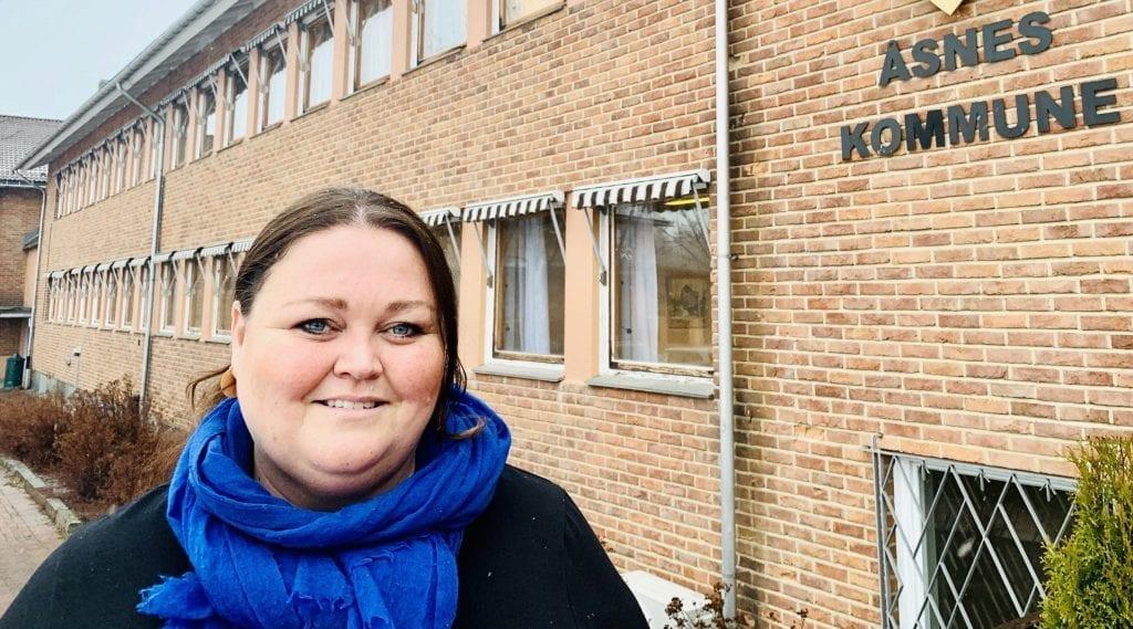 ØKER: Åsnes hadde 24 flere innbygger ved utgangen av 2020 enn 2019. Åsnes-ordfører Kari Heggelund gleder seg over økningen, men er bekymret over at Innlandet totalt mister innbyggere.