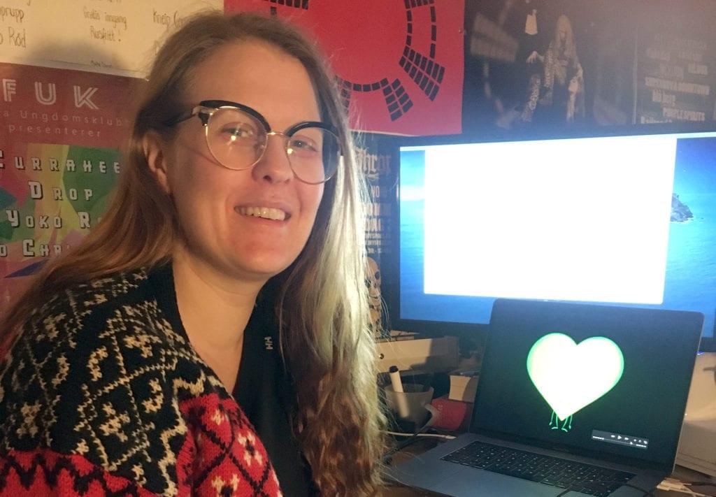 STÅR BAK: Christina Haga Ommestad fra Hof har animert Kongsvingerregionens grønne hjerte. Regionen har neste uke sin digitale hjemflyttingskampanje #treffes.