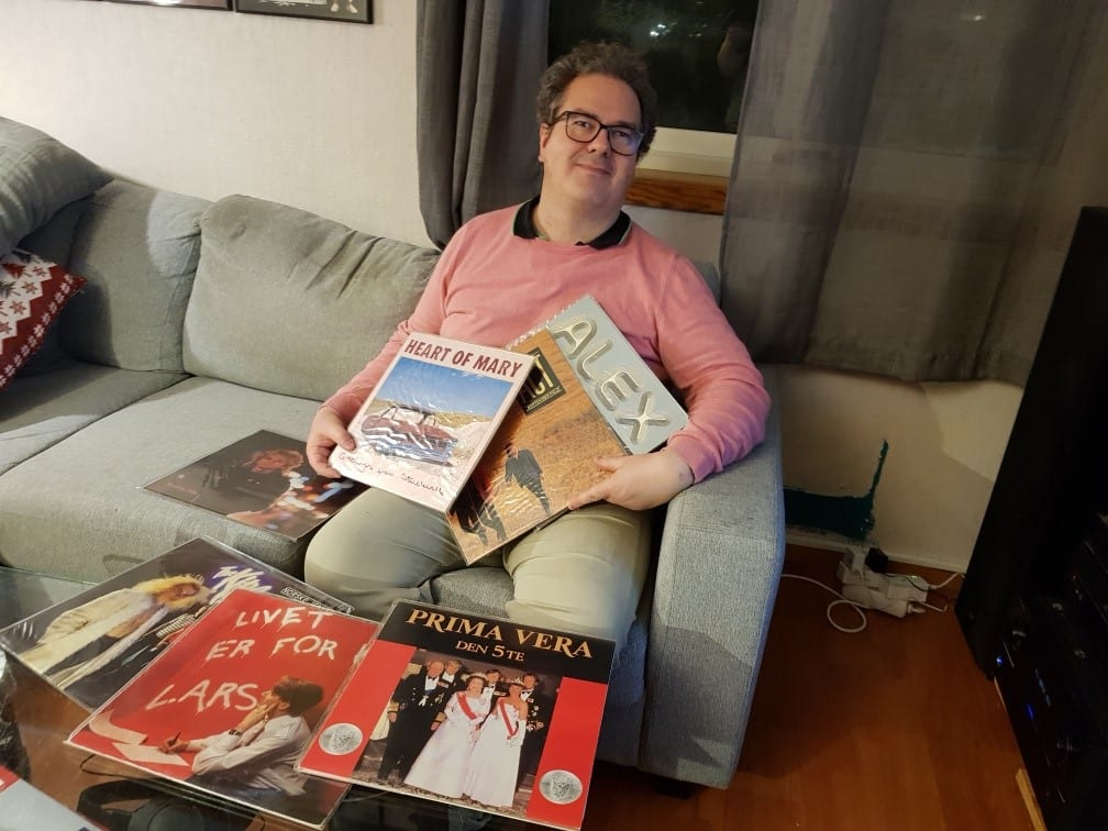 GAMLE KLASSIKERE: John Richard Stenberg fra Grue (bildet) trekker i trådene sammen med Christer Falck for å få utgitt gamle LP-er på nytt som CD. Norske albumklassikere har på kort tid blitt en suksess.