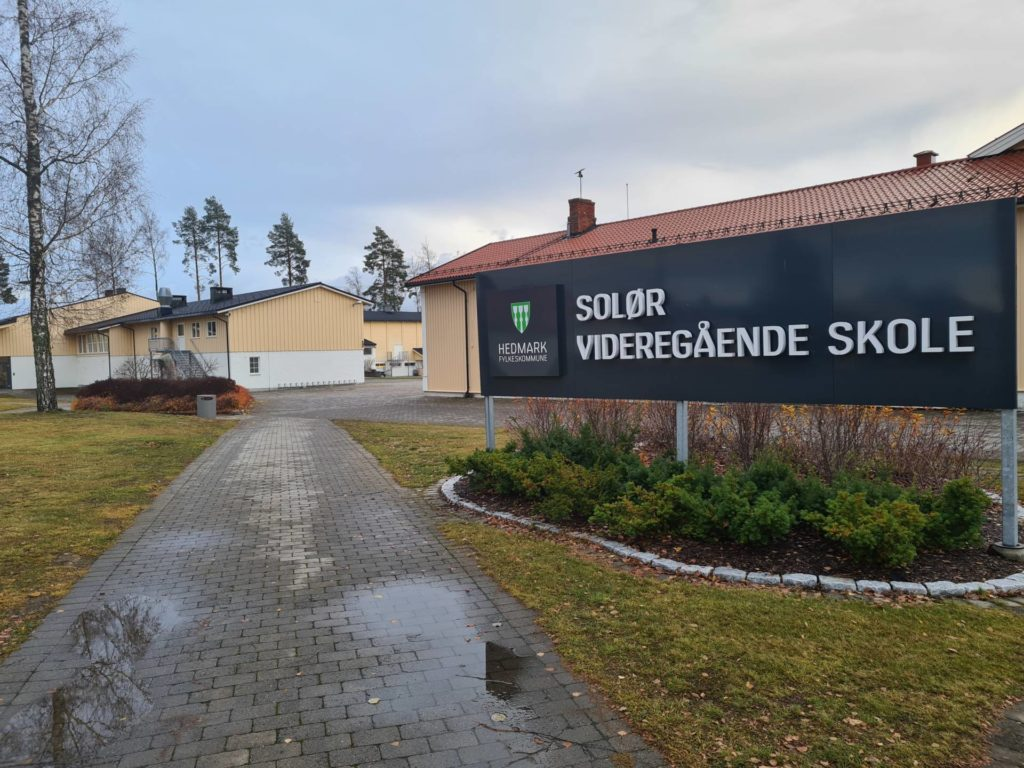 VANT VALGET: Senterpartiet er klart største parti ved skolevalget på Solør videregående skole. Tallene er fra alle tre avdelinger samlet.