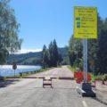 ÅPNES SNART: Grenseovergangen ved Røgden på Grue Finnskog er blant dem som fortsatt er stengt, men som vil bli åpnet i løpet av én uke i følge svensk radio.