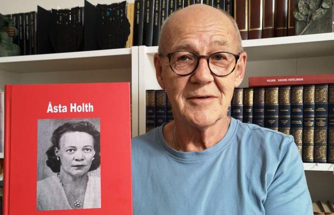 NY UTGIVELSE: 35 av novellene til Åsta Holth fra 1935 til 1970 er nå samlet mellom to permer av Terje Tønnessen og Kulturforlaget BRAK. Lansering er på søndag.