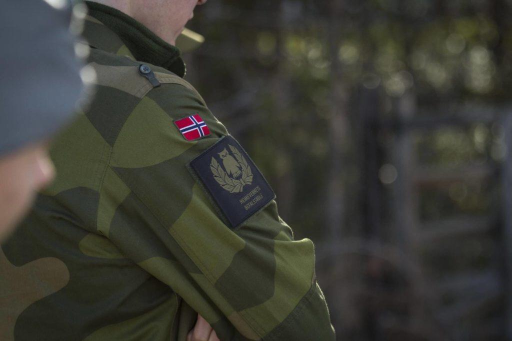 KLAR FOR ØVELSE: I over en uke skal Heimevernet ha øvelser på og rundt Haslemoen. Foto: Marte Brohaug, Forsvaret.