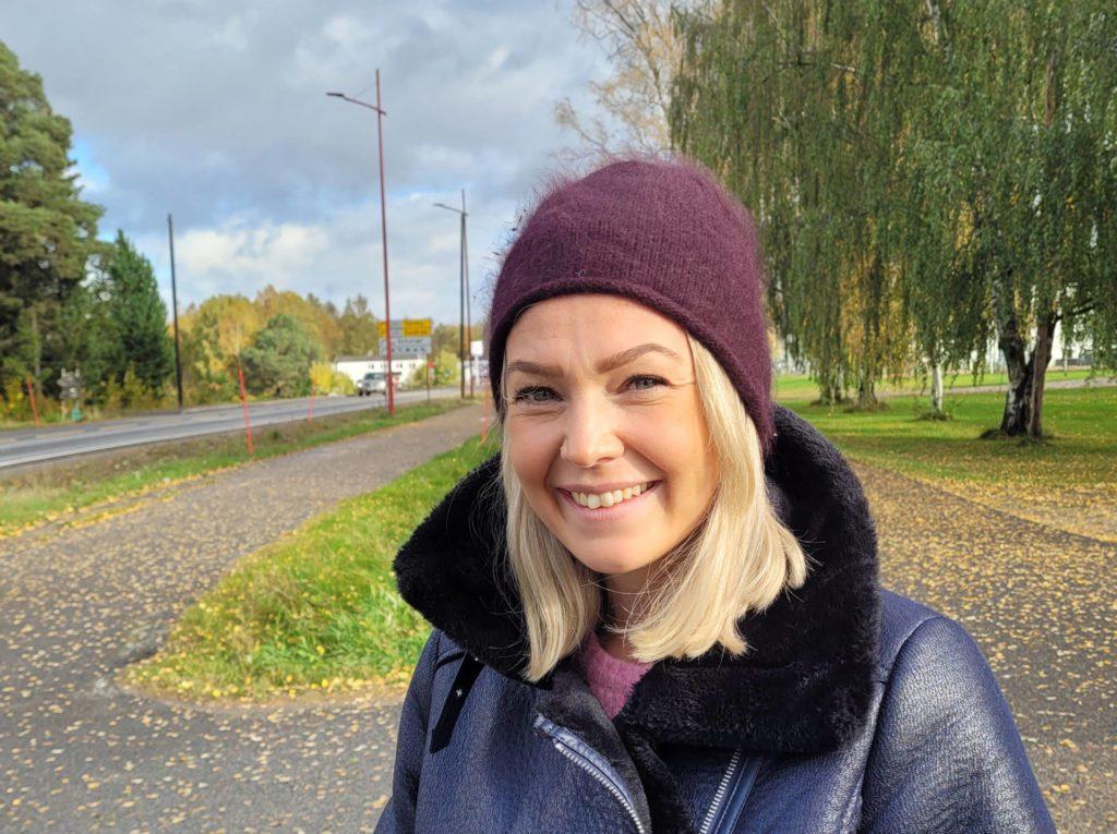JOBBER FRA GRUE: Når Camilla ikke har programlederrollen i God morgen Norge, jobber hun med Grue som utgangspunkt. Pandemien har gjort at mange både arbeidsgivere og ansatte tenker annerledes nå.