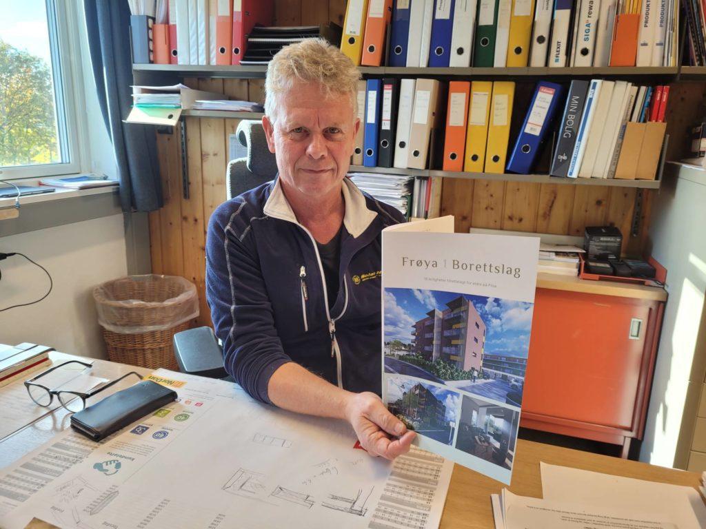 HAR INFOMØTE: Øystein Aurland i Solør Hus inviterer til informasjonsmøte om byggingen i Frøyas gate 1 på Flisa. Det finner sted på Atico 19. oktober.