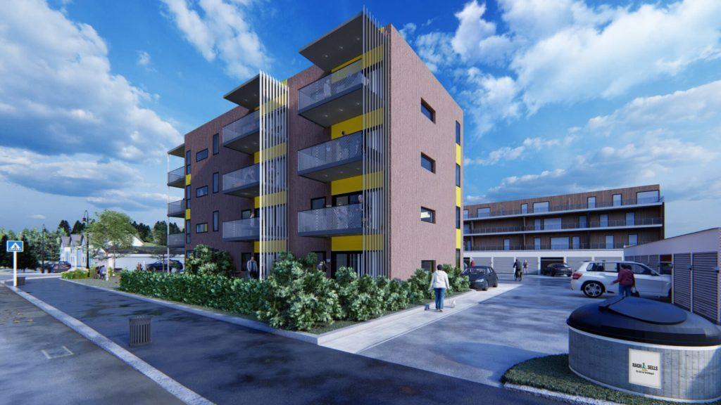 TRENGER NI SALG TIL: For å starte byggingen av leilighetsbygget i Frøyas gate 1 trenger Solør Hus 9 salg til. 19. oktober blir det informasjonsmøte på Atico om prosjektet.