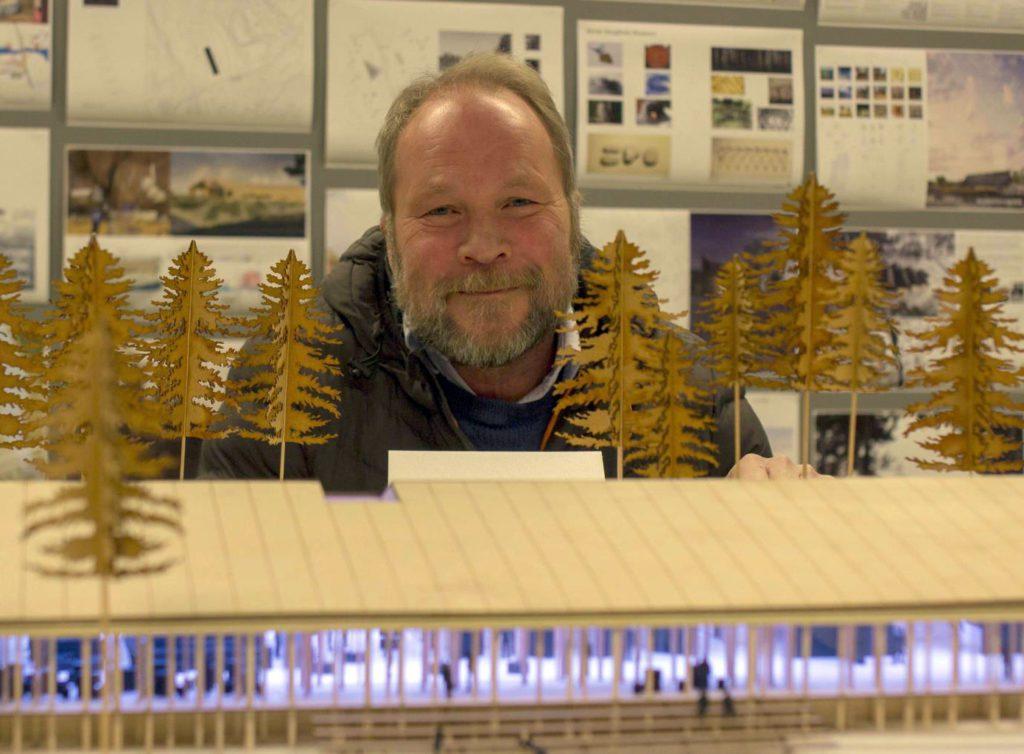SER LYSERE UT NÅ: Dag Raaberg er daglig leder i Norsk Skogfinsk Museum, og er glad for positive signaler fra Kulturdepartementet nå. Arkivfoto: Ingrid Vatnar Eikje.